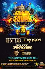Flux Pavilion/ Excision/ Destroid at Safe In Sound Festival